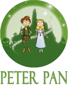 Button Peter Pan