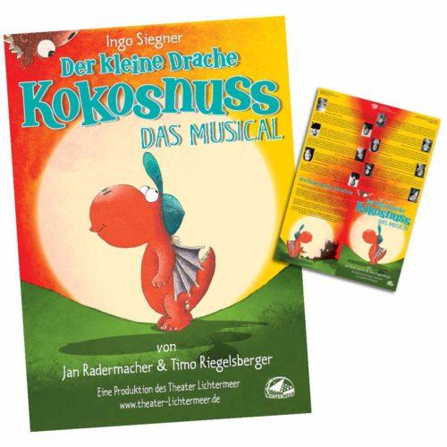 Der keine Drache Kokosnus -Poster-Programmheft