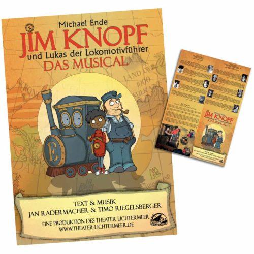 Jim Knopf Musical Programmheft