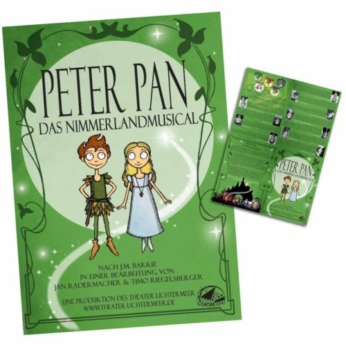 Peter Pan Musical Programmheft